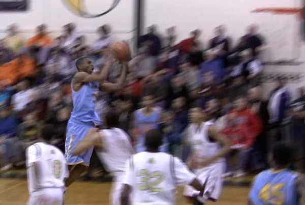 Huntington Prep's Andrew Wiggins takes off